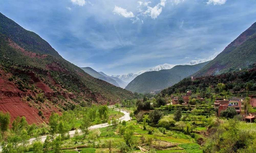 private day trip from marrakech to 3 valleys