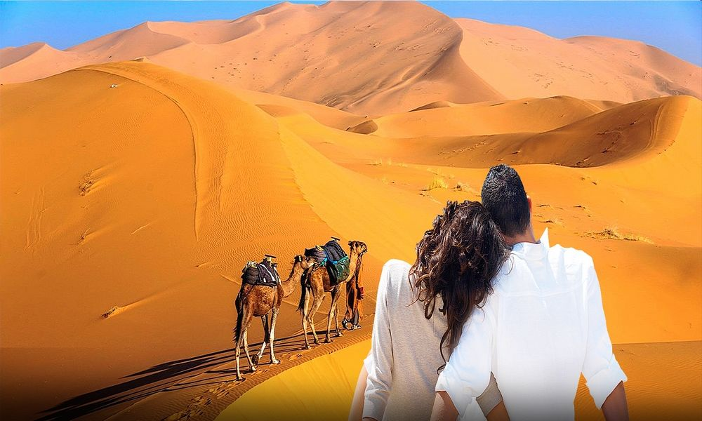 4 days tour from marrakech to merzouga