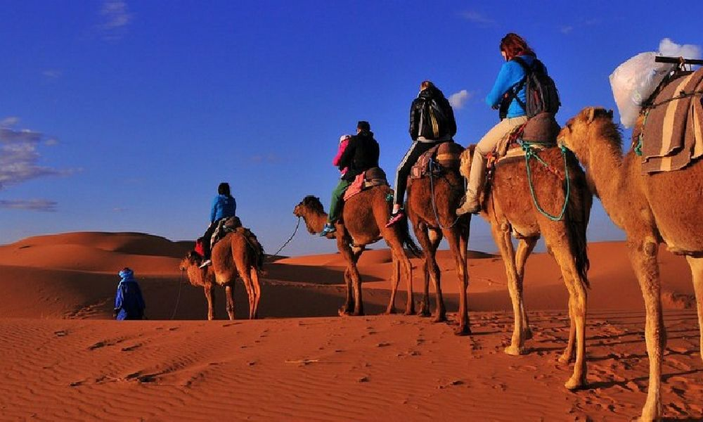 5 days desert tour from casablanca