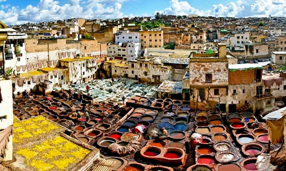 5 days travel from fes to marrakech via sahara