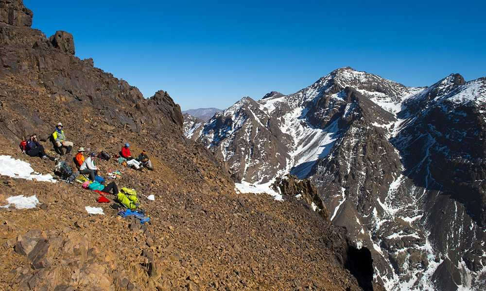 morocco Atlas hiking