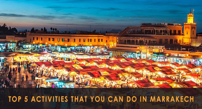 marrakech activities